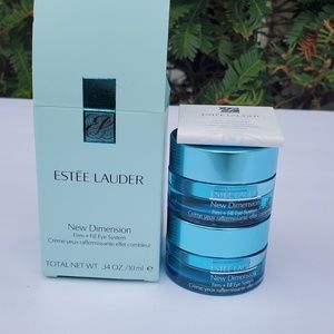 Estee Lauder new dimension Firm+fill eye System